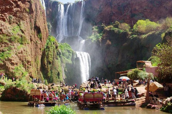 Full Day Trip From Marrakech To Ouzoud waterfalls