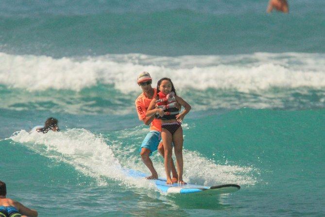Private Surf Lesson at Waikiki Beach