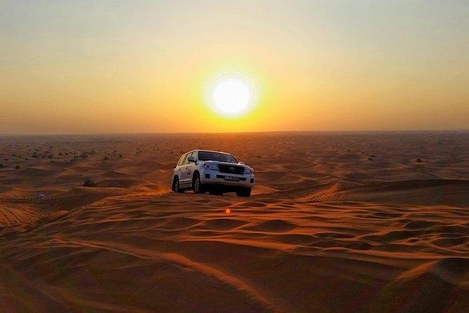 4x4 Desert Safari Dubai met diner in de woestijn