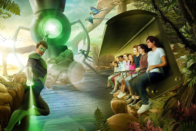Warner Bros World Abu Dhabi with Private Transfer From Dubai for 1 to 6 people