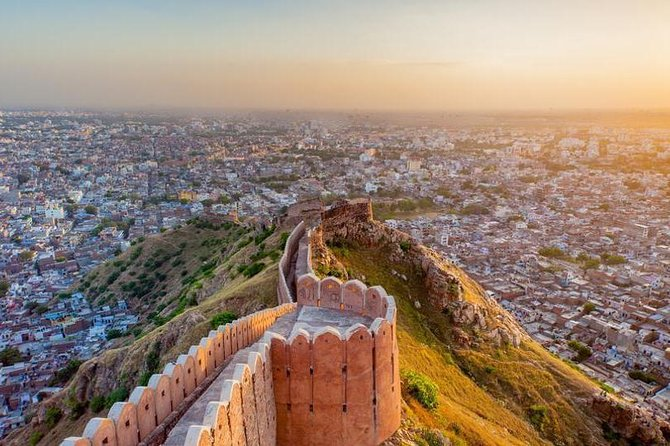 Full day private Jaipur tour in car with Guide