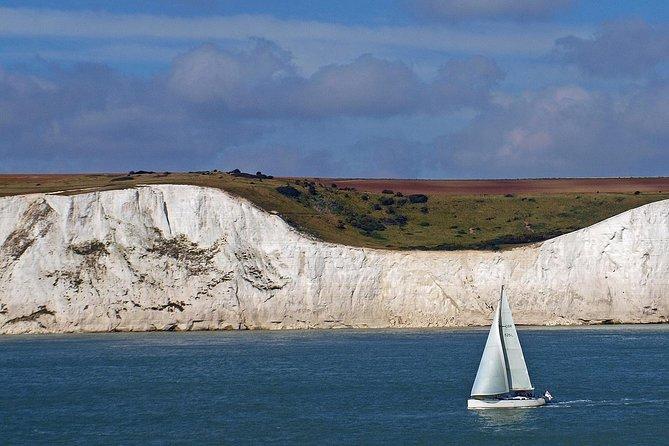 Excursão de dia em White Cliffs de Dover, Canterbury e Kent Coast