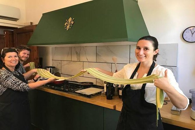 Privat italiensk pasta matlagningskurs i Florens