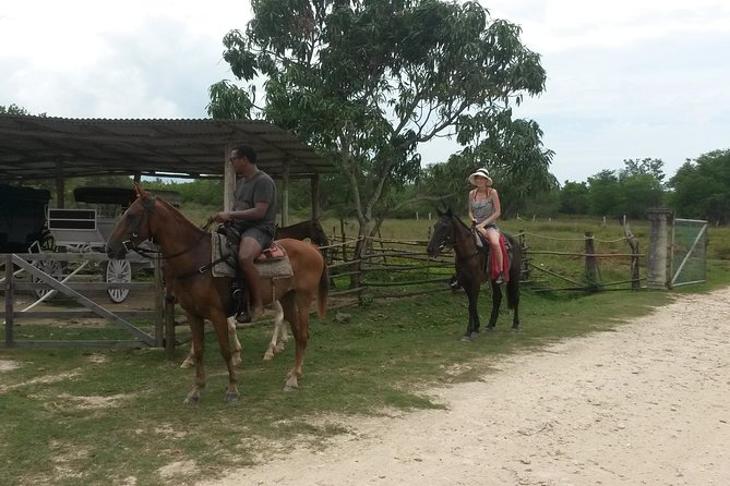 Horseback Ride and Mayfield Falls combo from Negril