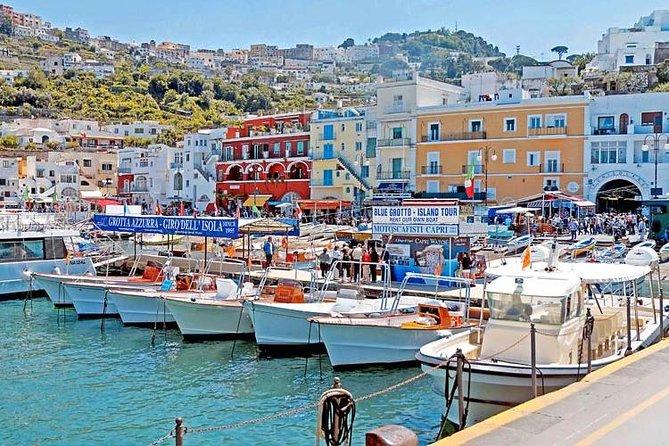 Capri and Anacapri SELECT Guided Tour from Sorrento