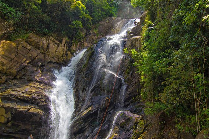 Day Trip: Waterfall Rappelling and Zipline at Bocawina - Antelope Falls