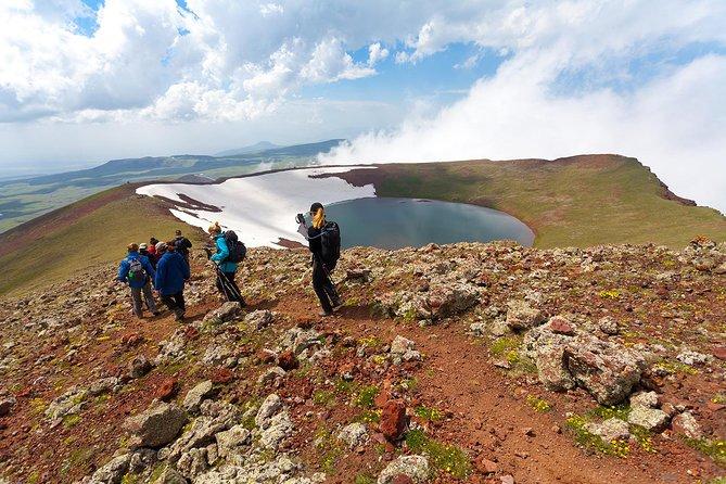 Climbing Mount Azhdahak