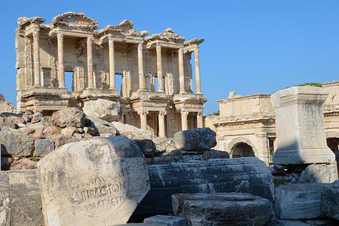 Visite privée d'Ephesus et d'Aquapark d'Adaland pour des familles de Kusadasi