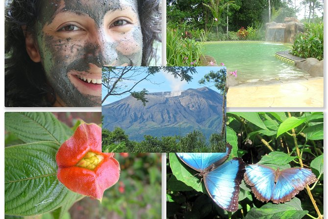 Cathedral Waterfall Hot Springs Adventure Rincon de la Vieja from from Liberia