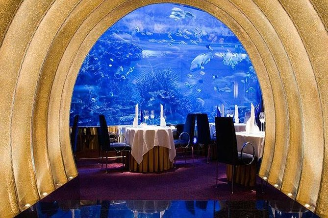 Gourmet Dinner at Al Mahara in Burj Al-Arab in Dubai with Private Transfers photo 1