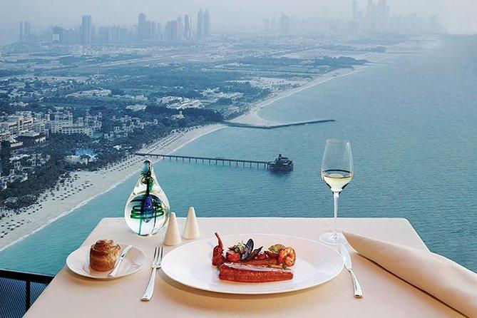 Lunch at Al Muntaha in Burj al Arab with Private Transfers