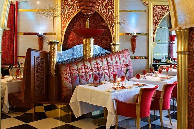 Diner in Al Iwan in Burj al Arab met privétransfers