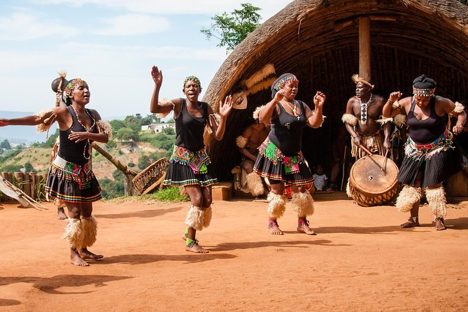 Phezulu Cultural Village & Reptile Park Private Half Day Tour from Durban