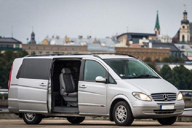 Private Minivan transfer from Riga to Kaunas