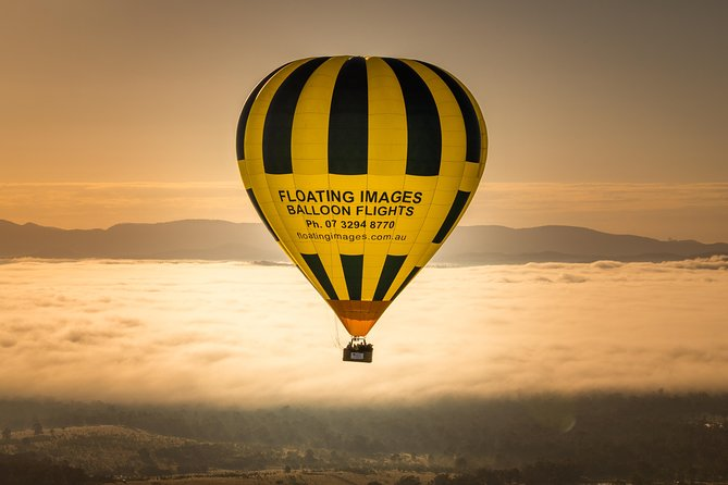 Greater Brisbane Hot Air Balloon Flights - City & Country views - 1 hour flight!