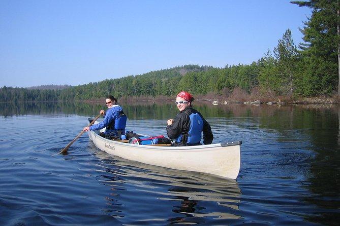 Excursão de 4 dias no Parque Algonquin viagem de canoa