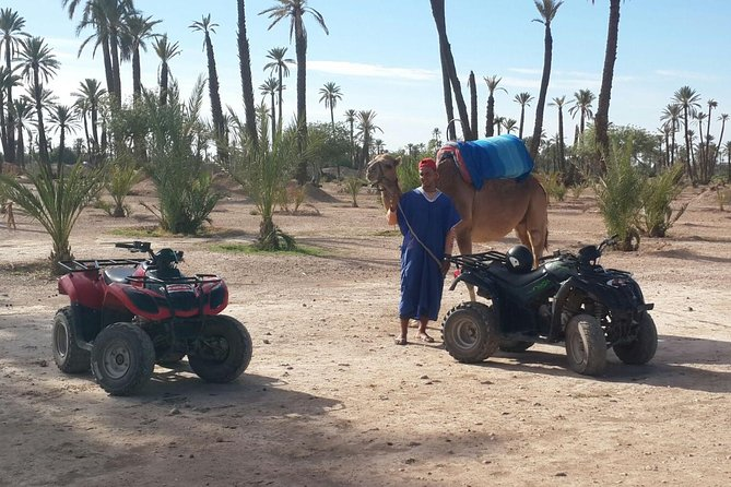 Marrakech 2 Hours Quad Biking and 1 Hour Camel Riding Tour