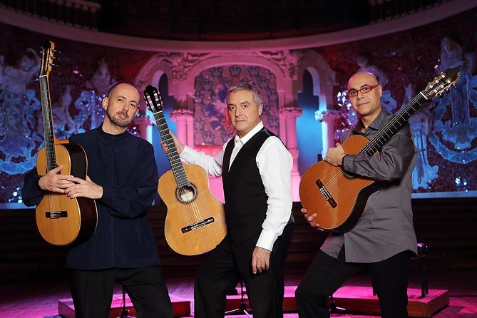 Spanish & Flamenco Guitar Concert at the Palau de la Música Catalana, Barcelona