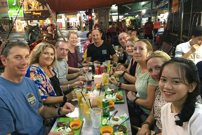 Saigon Street Food tour by Motorbike at night