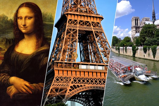 Paris in One Day : Eiffel Tower Summit, Louvre, Notre-Dame, Seine River Cruise