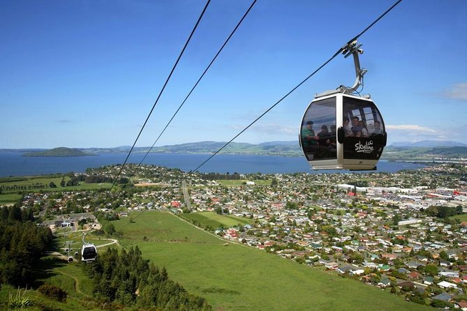 Tauranga Shore Excursion: Skyline Gondola Rotorua plus Geothermals