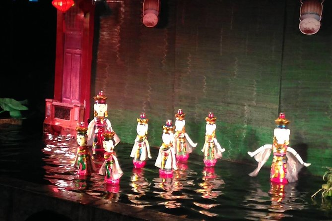 Hoi An afternoon tour with water puppet show on Tuesday or Friday or Saturday