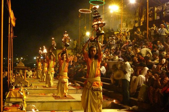 Sacred Varanasi and Ganges River Ceremony Tour