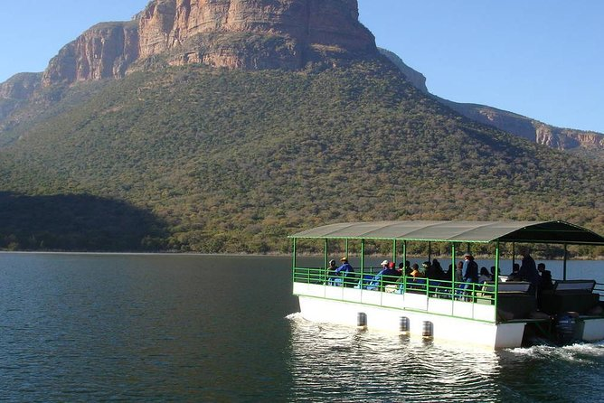 Cruise on Blyde Dam & Moholoholo Rehab Centre Day Tour from Hazyview