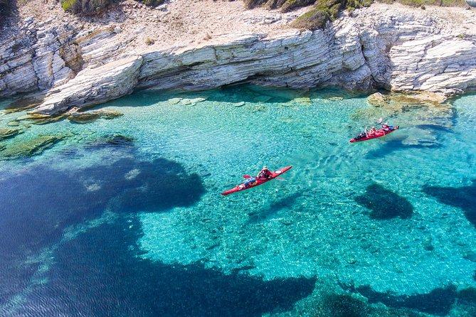 Sea Kayaking Tour Sea Caves Lefkada (Half Day)