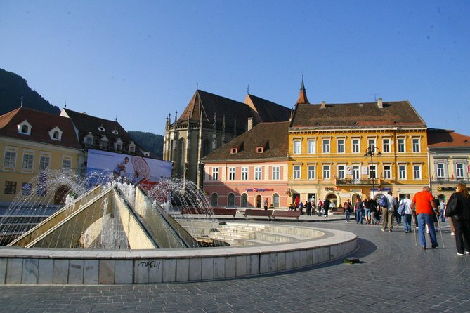 Full-Day Trip from Sibiu to Famous Dracula Castle in Bran and Brasov City Tour Including Black Church Visit