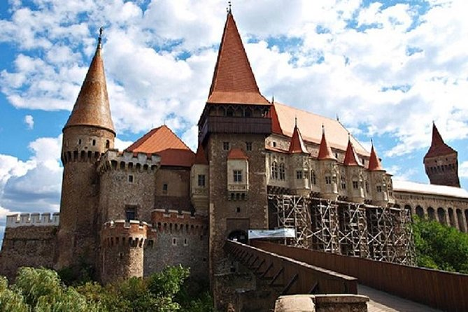 Corvin Castle in Hunedoara.