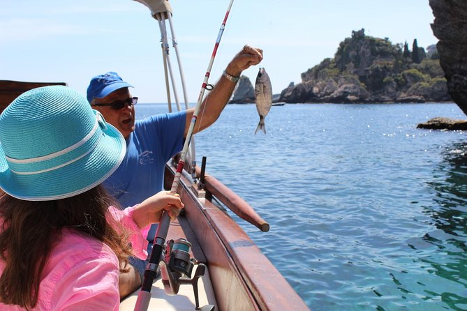 Private Isola Bella Fishing Tour from Taormina