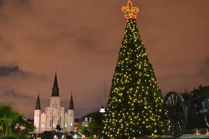 New Orleans Christmas.Christmas Nola Style Walking Tour 2019 New Orleans