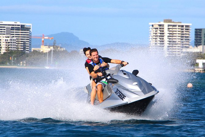 1hr Jet Ski Island Safari in Gold Coast - NO LICENCE REQUIRED