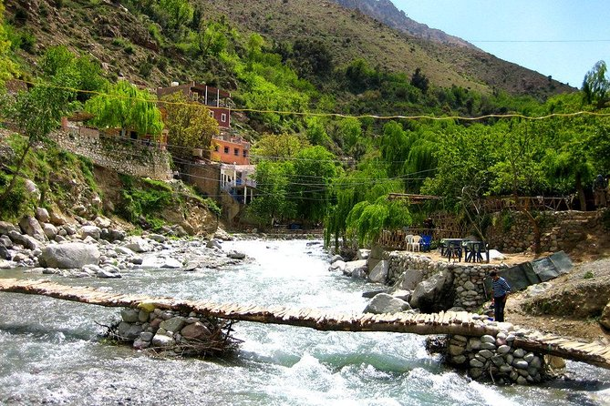 Atlas Mountains & 4 Valleys with Berber Villages Guided day trip from Marrakech