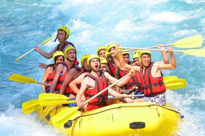 Canyoning- und Rafting-Touren ab Kemer
