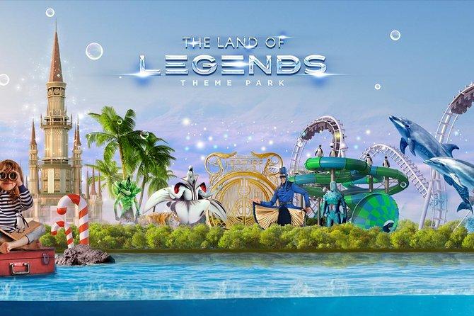 Land of Legends-Freizeitpark ab Antalya