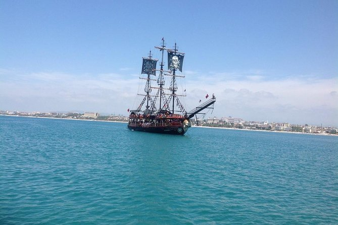 Pirate Boat Trip with transfer from Belek