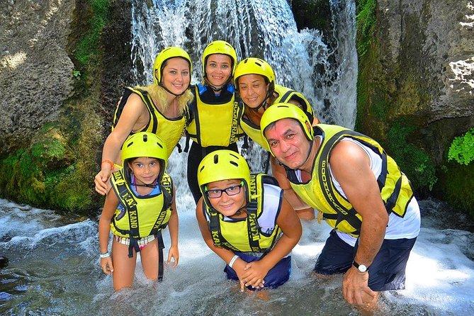 Family Rafting Trip at Köprülü Canyon from Side