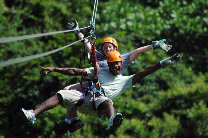 Rafting Canyoning and Zipline Adventure from Antalya
