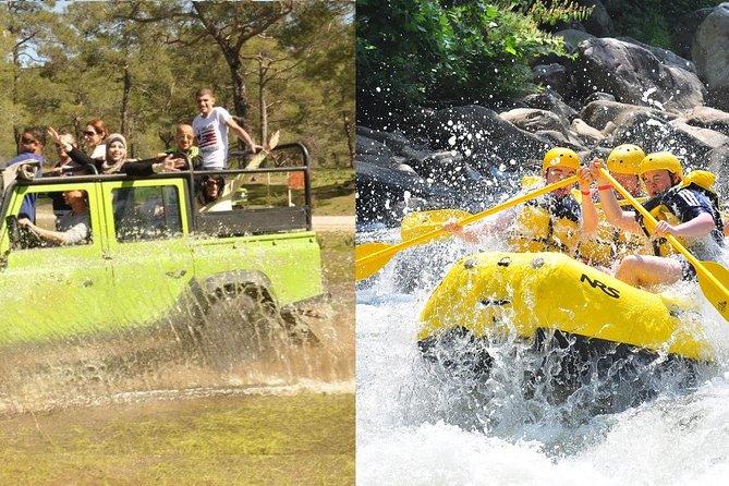 Rafting & Jeep Safari Adventure from Belek