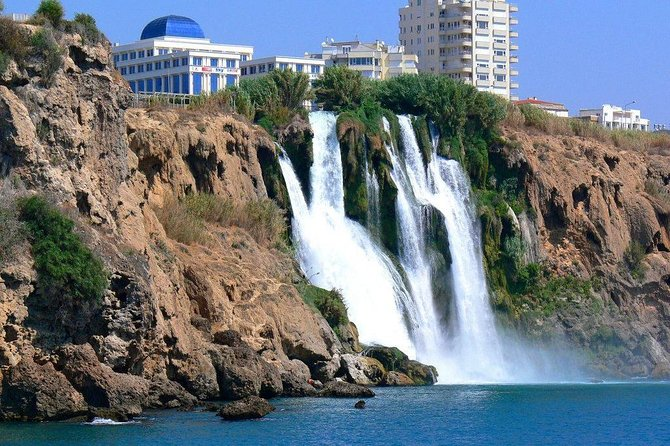 Antalya City Tour with Boat Trip and Duden Waterfalls