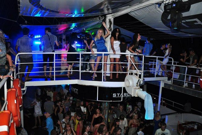 Antalya Party Boat at Night
