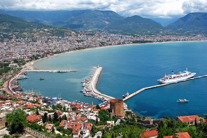 Alanya sightseeing tour from Side