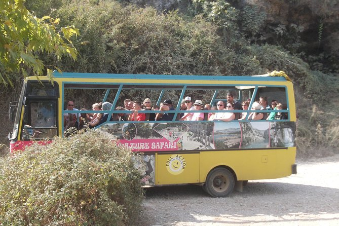 Cabrio Bus Safari and Village Tour from Side