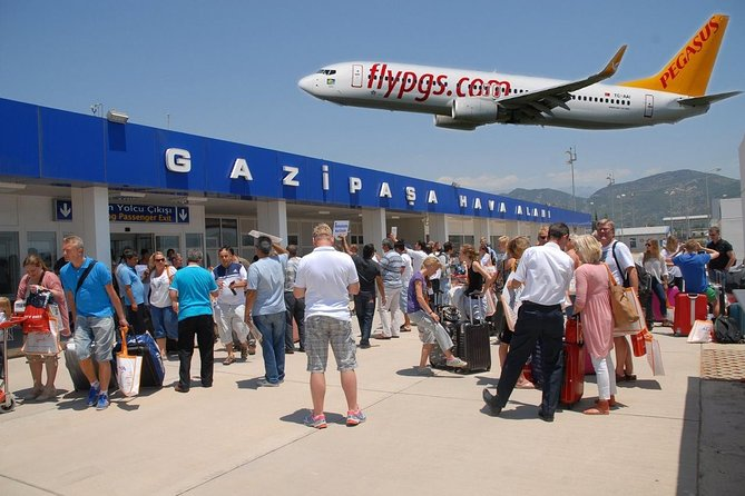 Private Transfer from Alanya to Gazipasa Airport GZP