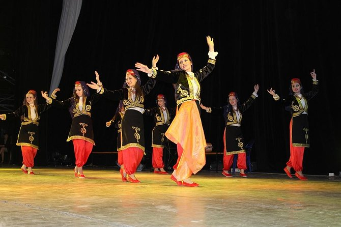 1001 Nights traditional dance performance, from Alanya
