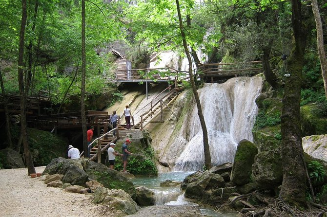 Temple of Apollo and Hidden Paradise Waterfalls Tour