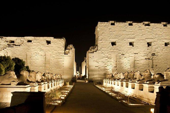 Oplev Luxor: Karnak-templets spektakulære lyd- og lysshow
