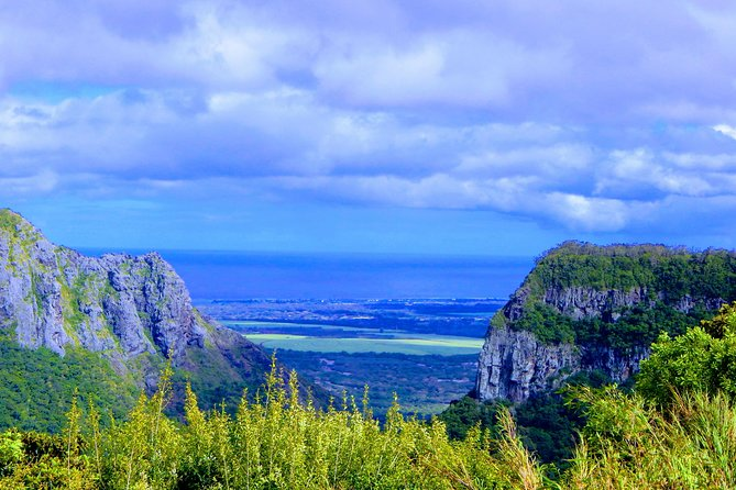 View of the Southwest of Mauritius